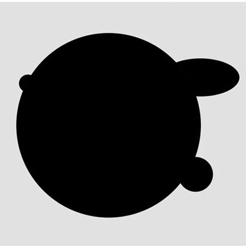 black hole, 2008, digital drawing
